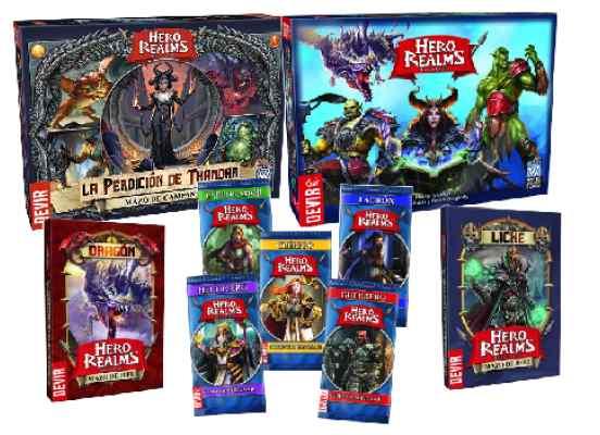 Hero Realms Total Expansiones TABLERUM