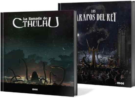 La Llamada de Cthulhu + Los Harapos del Rey TABLERUM