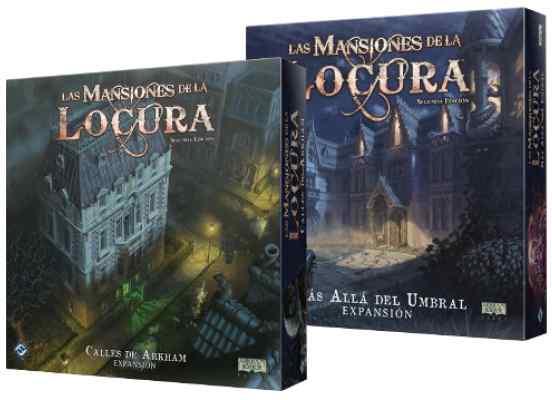 Las Mansiones de la Locura: Más Allá del Umbral + Calles de Arkham TABLERUM