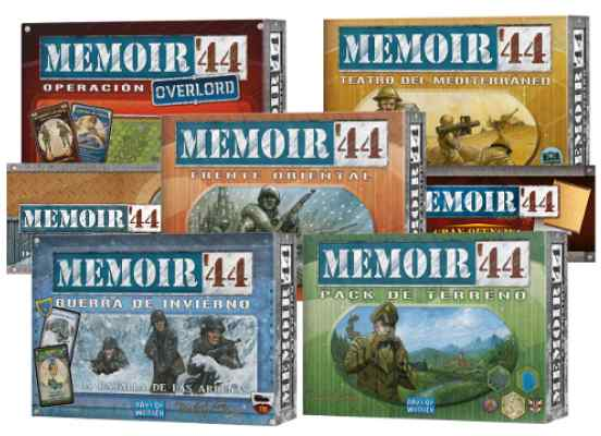 Memoir 44: Expansiones TABLERUM