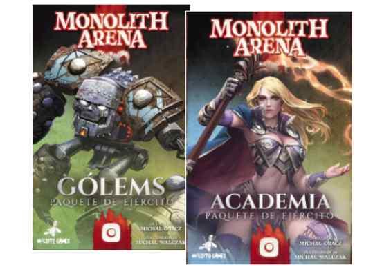 Monolith Arena: Golems + Academia TABLERUM