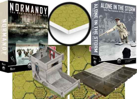 Normandy Pack Total Kikstarter TABLERUM