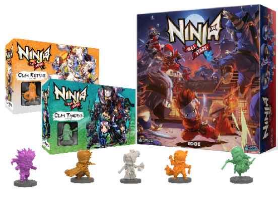 Pack Liquidación Ninja All Stars TABLERUM