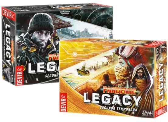 Pandemic Legacy S2 Pack TABLERUM