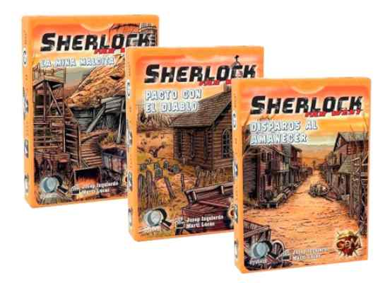 Q Sherlock Far West Pack TABLERUM