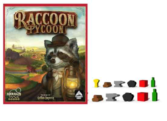 Raccoon Tycoon + Componentes de Madera TABLERUM