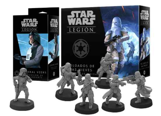 Star Wars Legión: General Veers + Soldados de las Nieves TABLERUM