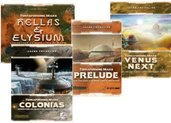 Terraforming Mars Expansiones TABLERUM