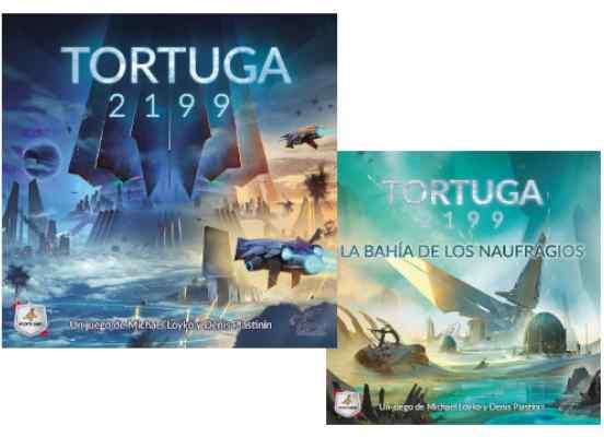 Tortuga 2199 + Expansión La Bahía de los Naufragios TABLERUM