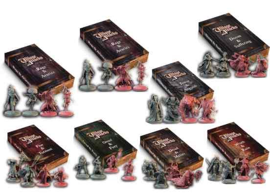 Village Attacks: Expansiones Pack TABLERUM