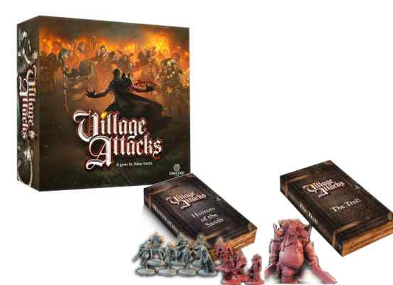 Village Attack + Expansiones TABLERUM