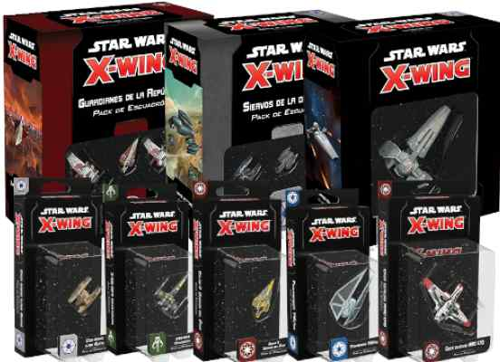 X Wing 2 Edición Oleada 3 TABLERUM