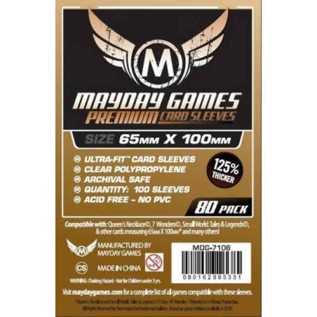 Fundas Mayday 65 x 100 Premium Magnum Cooper Sleeves (7Wonders) (80 uds) TABLERUM