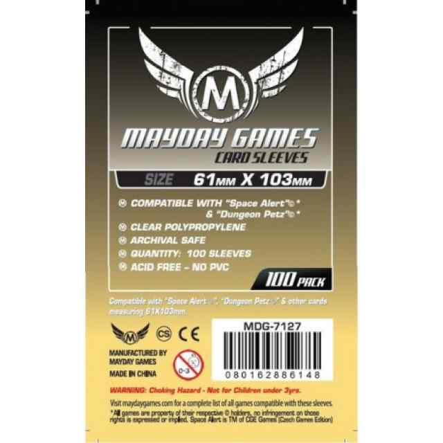 Fundas Mayday 61 x 103 Magnum Space Card (100) TABLERUM