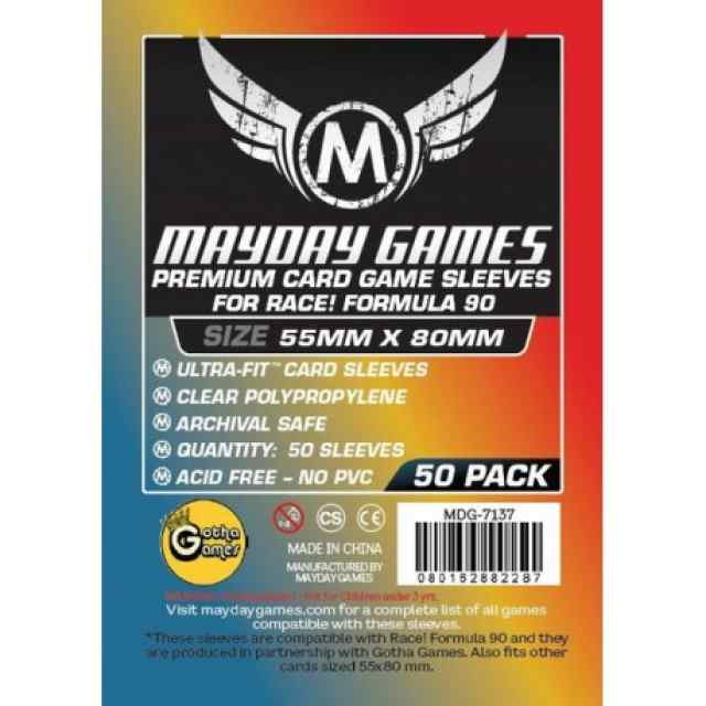 Fundas Mayday 55 x 80 Premium Race! Formula 90 (50) TABLERUM