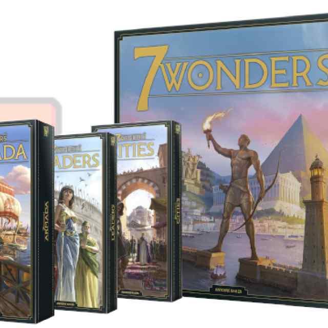 7 Wonders Nueva Edición Pack TABLERUM