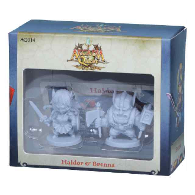 Arcadia Quest: Haldor y Brenna barato