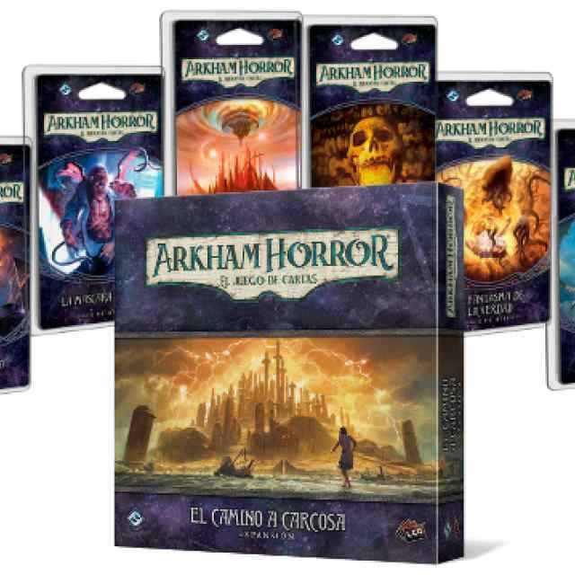 Arkham Horror (LCG): Campaña El Camino a Carcosa TABLERUM