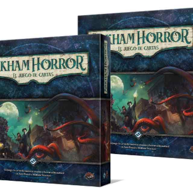 Arkham Horror: El juego de Cartas 4 jugadores