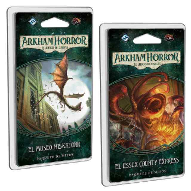 Arkham Horror (LCG): Museo Miskatonic + Essex County
