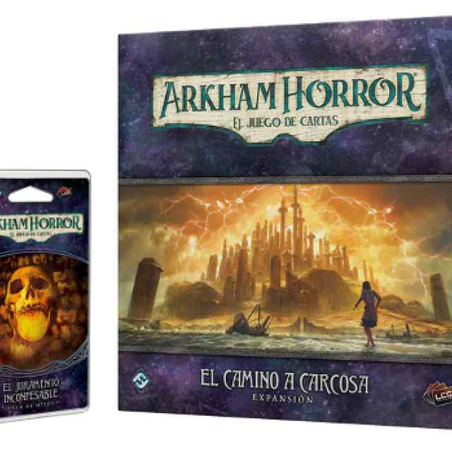 Arkham Horror (LCG): Camino a Carcosa + Juramento Inconfesable