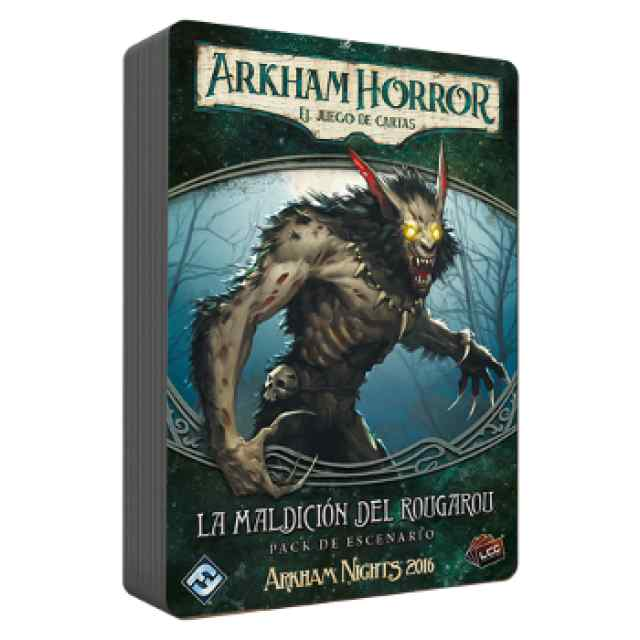 Arkham Horror (LCG): La maldición del rougarou TABLERUM
