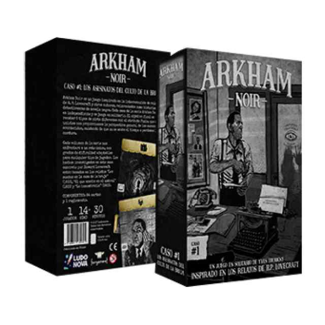 Arkham Noir TABLERUM