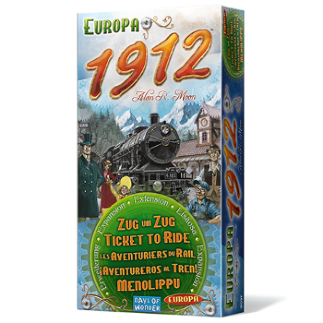 comprar Aventureros al Tren: 1912