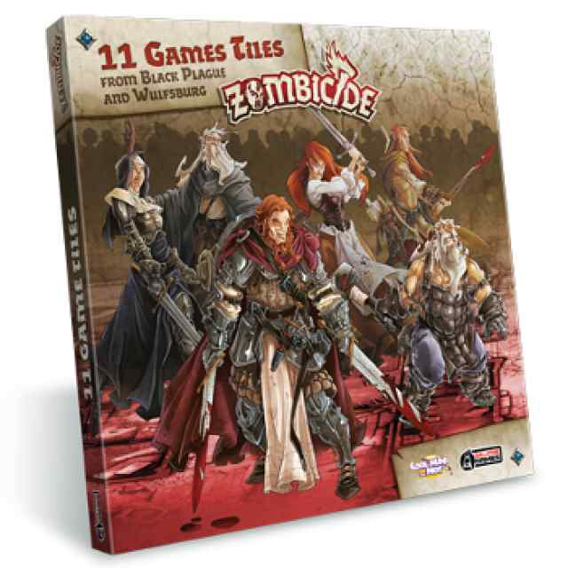 expansión Zombicide Black Plague: Extra Tiles Pack