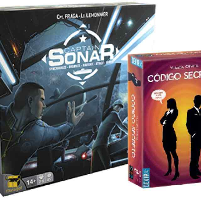 Captain Sonar + Código Secreto