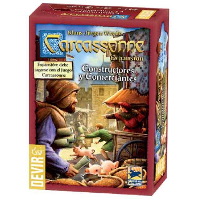 Carcassonne: Constructores y Comerciantes TABLERUM