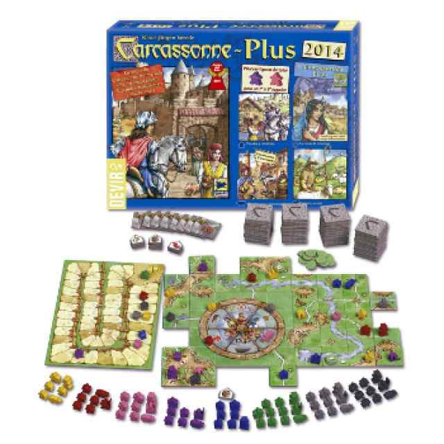 comprar Carcassonne Plus 2014