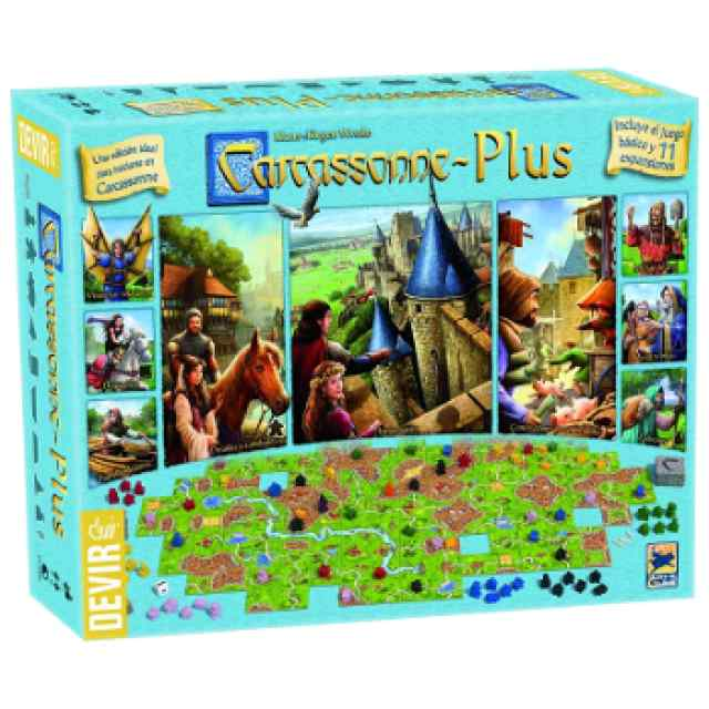 Carcassonne Plus 2017 TABLERUM