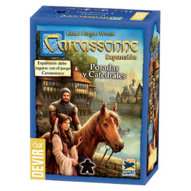 Carcassonne: Posadas y Catedrales (2016) TABLERUM