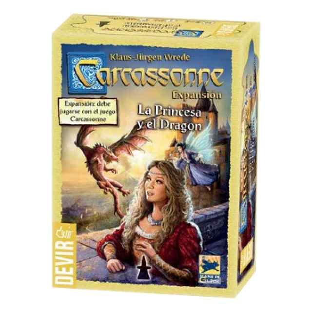 Carcassonne La Princesa y el Dragón TABLERUM