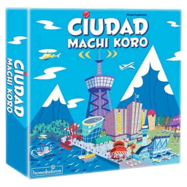 comprar Ciudad Machi Koro