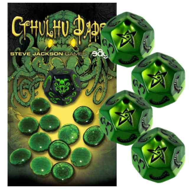 Cthulhu Dados: Verde-Negro