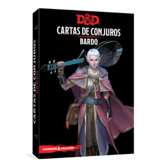 Dungeons & Dragons: Cartas de Conjuro: Bardo TABLERUM
