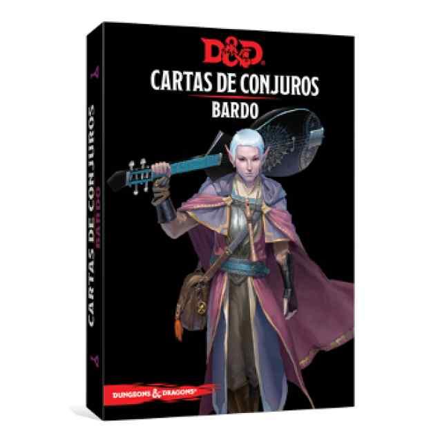 Dungeons & Dragons: Cartas de Conjuro: Bardo TABLERUM