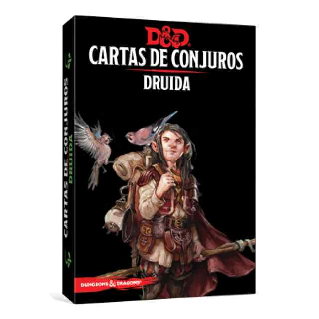 Dungeons & Dragons: Cartas de Conjuro: Druida TABLERUM