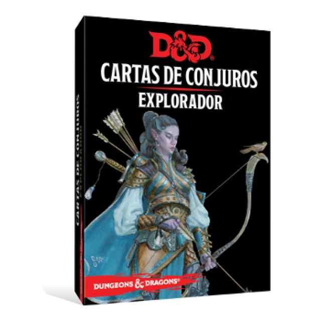 Dungeons & Dragons: Cartas de Conjuro: Explorador TABLERUM