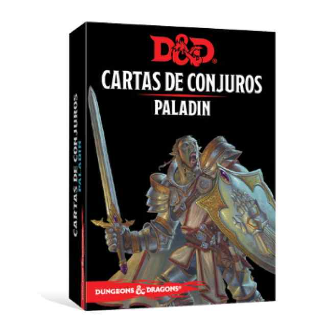 Dungeons & Dragons: Cartas de Conjuro: Paladín TABLERUM