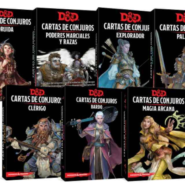 Dungeons & Dragons: Cartas de Conjuro TABLERUM
