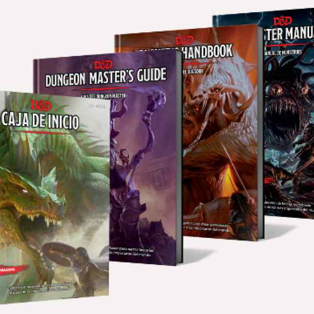 Dungeons & Dragons español TABLERUM