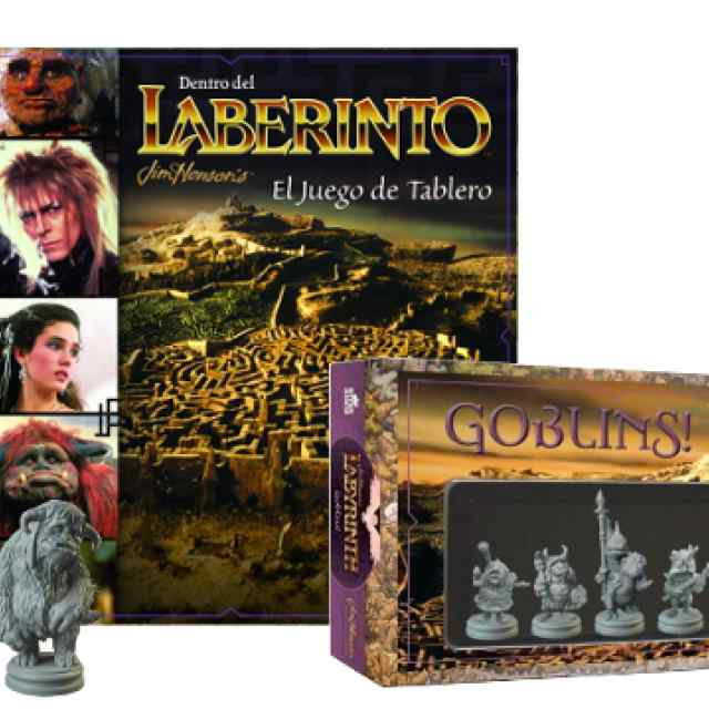 Dentro del Laberinto + Expansión Goblins (CASTELLANO) TABLERUM