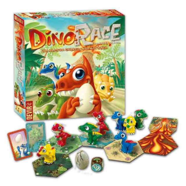 Dino Race juego familiar