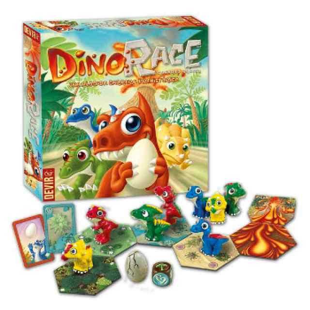 Dino Race juego familiar