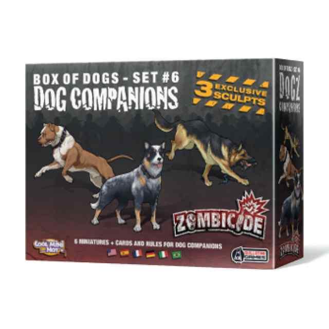 comprar juego de mesa Zombicide: Dog Companions