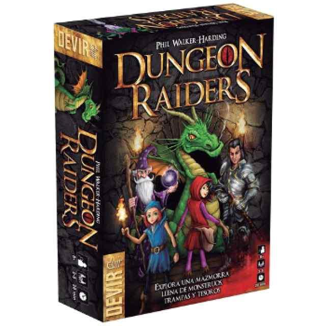 Dungeon Raiders juego de mesa