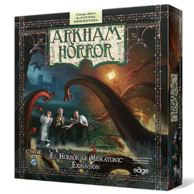 comprar Arkham Horror: El Horror de Miskatonic